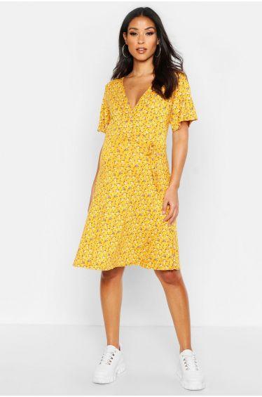 YAliDA Boutique Skirt 2019 Womens Casual Kaftan Button Long Sleeve Loose Solid Baggy Bottom Dress